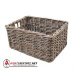 Kubu Rattan Extra Large Square Log Storage Basket