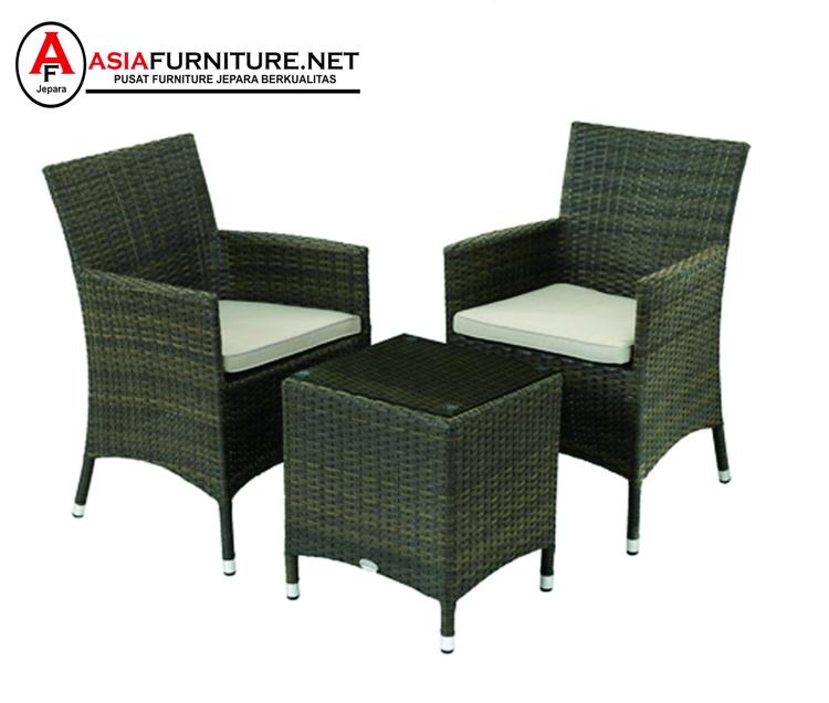 Set Kursi Teras Rotan Sintetis Hotel Makassar Asia Furniture Jepara