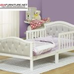 Tempat Tidur Anak Berpagar Putih Modern