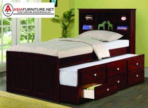 Tempat Tidur Anak Jati Multifungsi