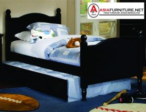 Tempat Tidur Minimalis Sorong Unik