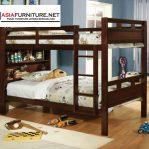 Tempat Tidur Tingkat Jati Multifungsi