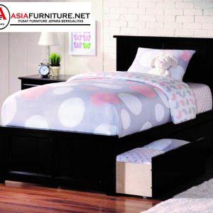 Tempat Tidur Anak Model Laci Minimalis