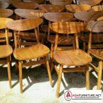 Kursi Cafe Kayu Jati Minimalis