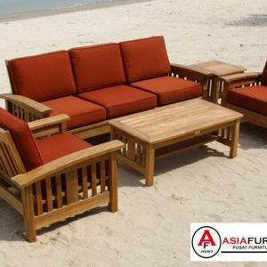Kursi Tamu Jati Sofa Outdoor
