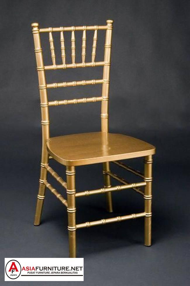 Kursi Tiffany gold minimalis