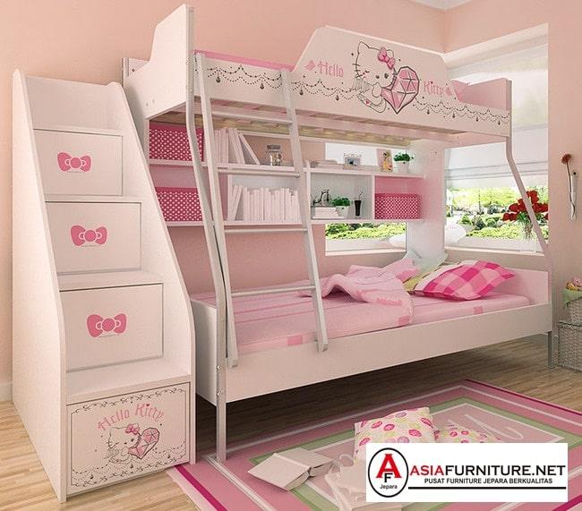Tempat Tidur Tingkat Hello Kitty
