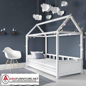 Tempat Tidur Anak Unik Bentuk Rumah