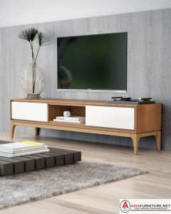 Meja Buffet TV Jati Minimalis Modern