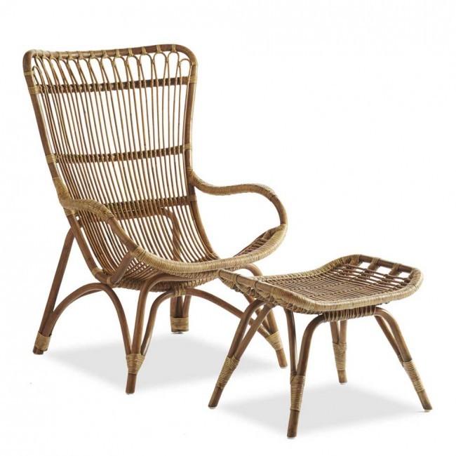 Kursi Santai Rotan Asli Natural Rattan Chair