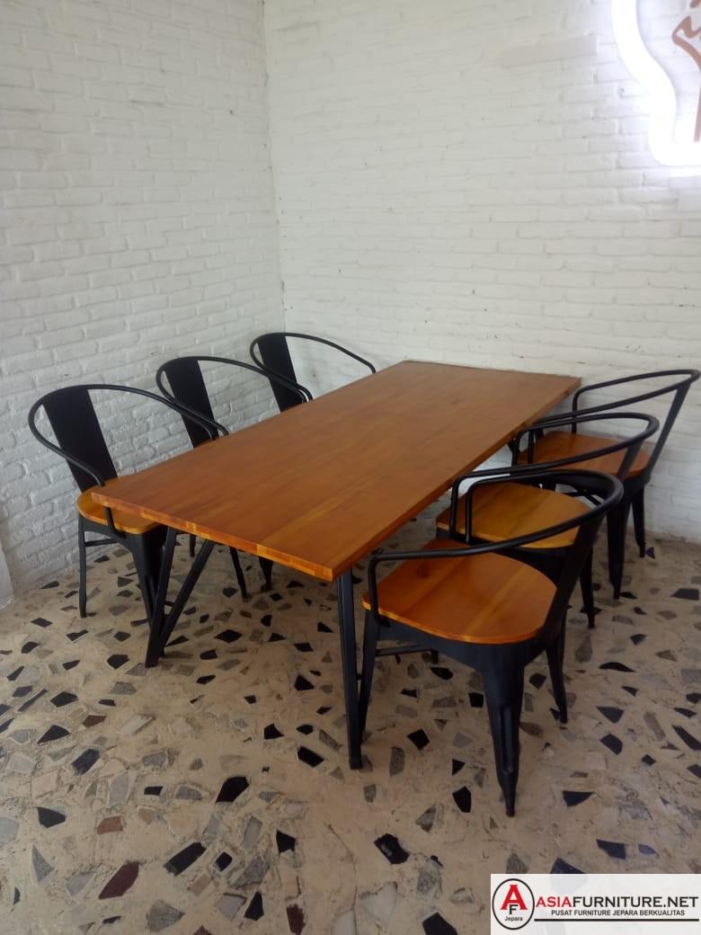 Set Kursi Cafe Besi Vintage