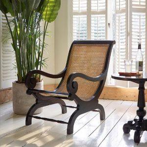 Kursi Santai Lazy Occasional Chair Anyaman Webbing