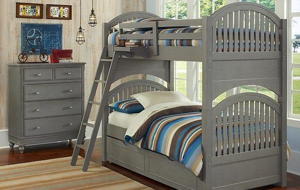 Tempat Tidur Anak Kayu Tingkat
