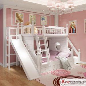 Tempat Tidur Tingkat Anak Perosotan