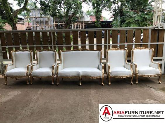 Kursi Pelaminan Wing Chair Manten